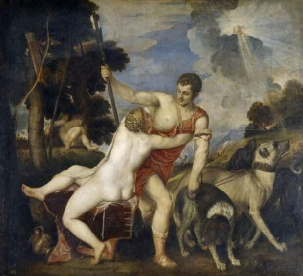 художник Тициан Вечеллио (Tiziano Vecellio) картины – 05
