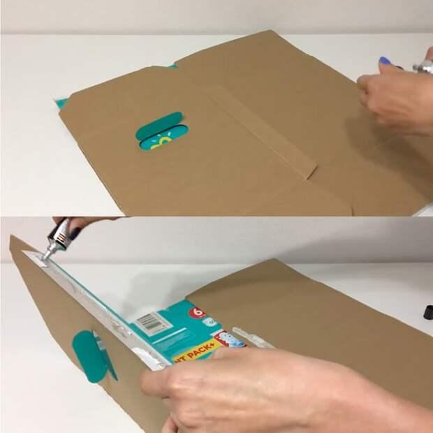 Превратите ненужную коробку в полезную и функциональную вещь для дома