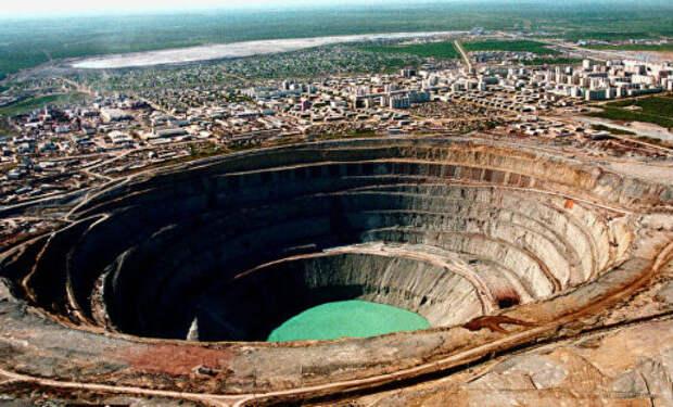 Самая большая дыра в земле на планете
