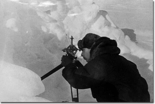 Е.К. Федоров Папанин, арктика, северный полюс, экспедиция