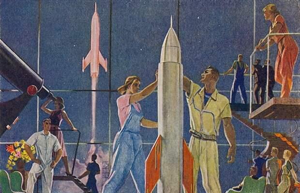 Как видели светлое будущее писатели-фантасты в СССР: три модели.