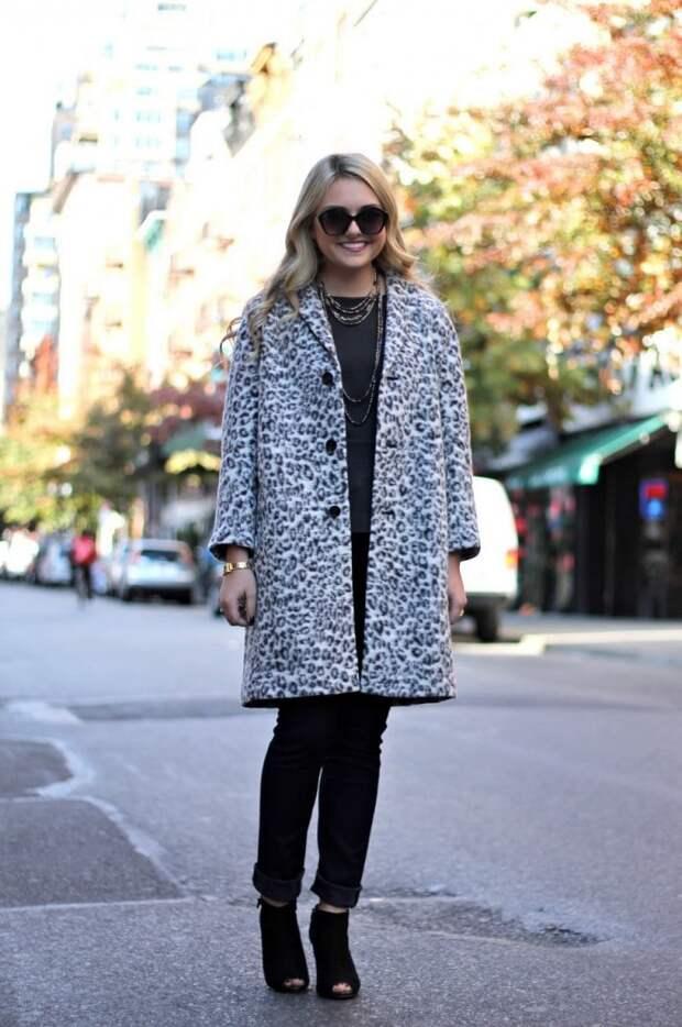 10 способов носить леопардовое пальто, чтобы всегда оставаться в центре внимания