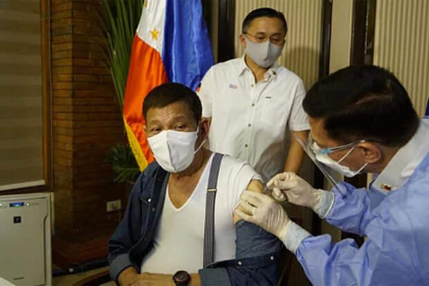 Президент Филиппин раскритиковал «вакцинный национализм»