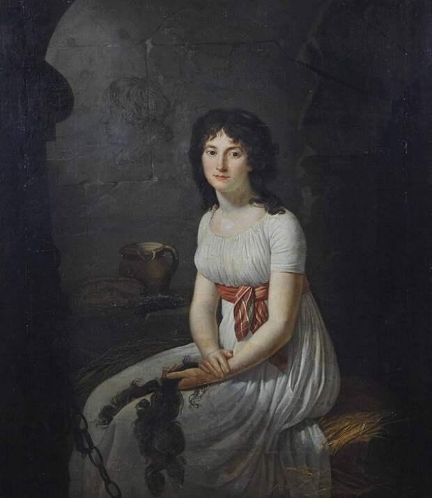 Тереза Тальен в тюрьме глазами Жана-Луи Ланёвиля.
