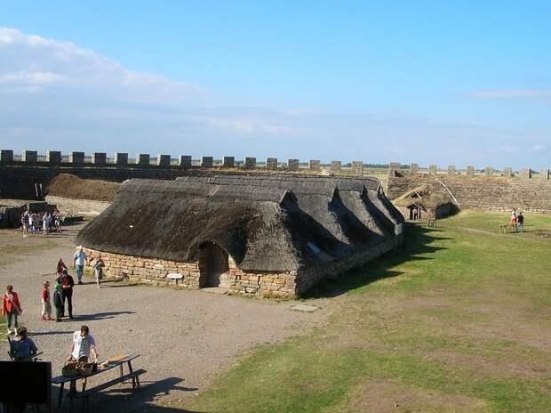 Экеторп — круглый форт «железного века»