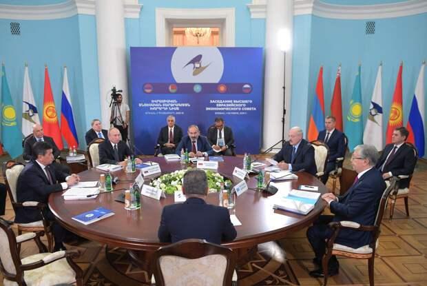 Согласование национальных интересов стран Евразии