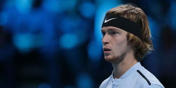 Теннисист Рублев прошел в четвертьфинал турнира