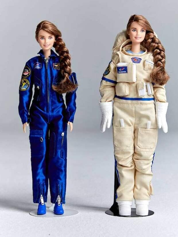 Barbie создал куклу в образе единственной женщины в отряде космонавтов Роскосмоса