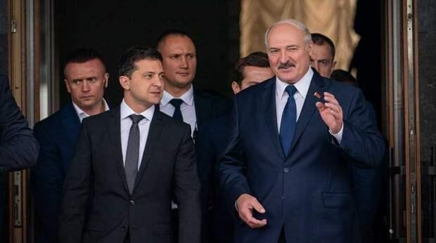 Как Зеленский плюнул в спину Лукашенко
