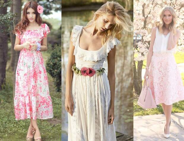 10 поводов надеть платье. Ароматы для романтического образа