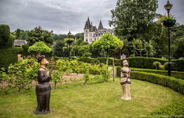Прогулка по бельгийскому топиар-парку в Дюрбюи