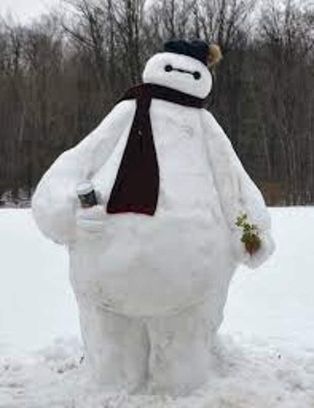 Снеговики с приколами - подборка
