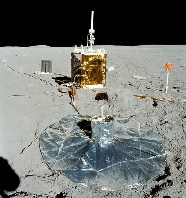 Сейсмограф на Луне (spaceflight.nasa.gov)