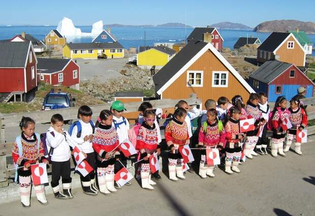 6 неожиданных фактов о том, как живут люди в Гренландии