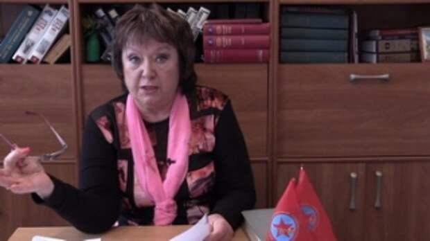 Наталия Витренко защитила Советский народ от украинских слуг – нацистов (см. ВИДЕО)