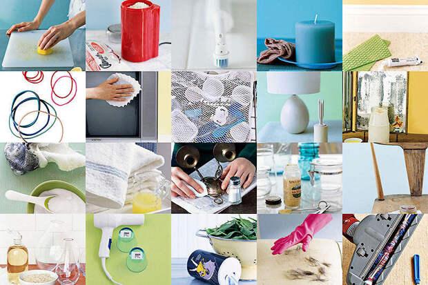 Ещё 20 маленьких хитростей для чистоты вдоме