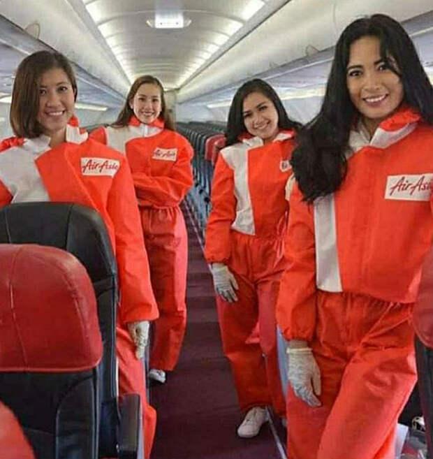 Новый стиль азиатских стюардесс