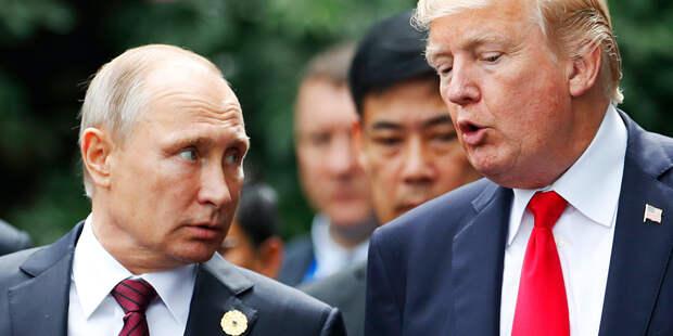 В Кремле рассказали о беседе Путина и Трампа