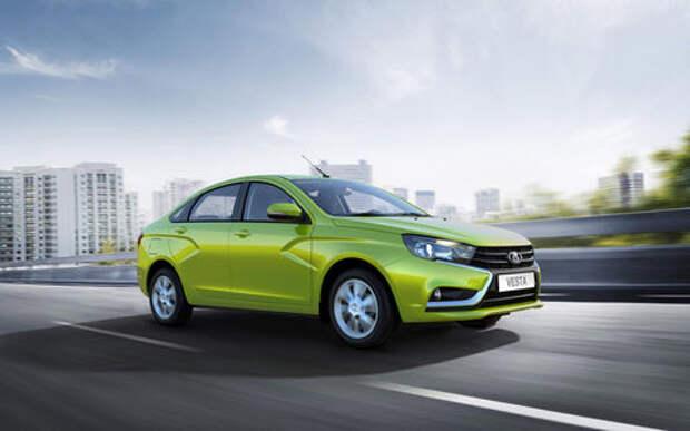 АВТОВАЗ поднял цены на седан Lada Vesta