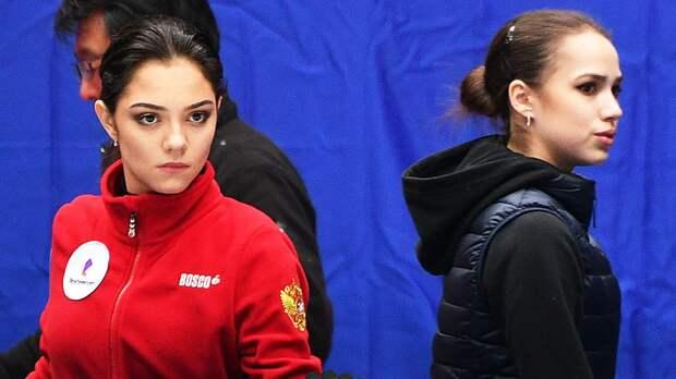 Команда Загитовой опережает команду Медведевой после первого дня командного турнира