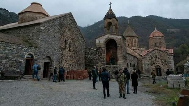 МИД России: В зоне повышенного внимания миротворческих сил находятся христианские святыни в зоне Карабахского конфликта