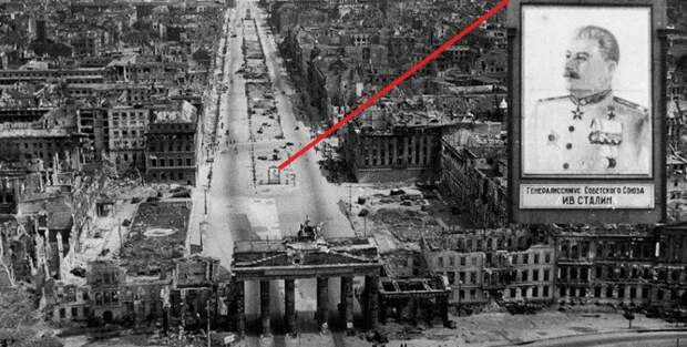 Развалинами Берлина удовлетворён! 1945 история, ретро, фото