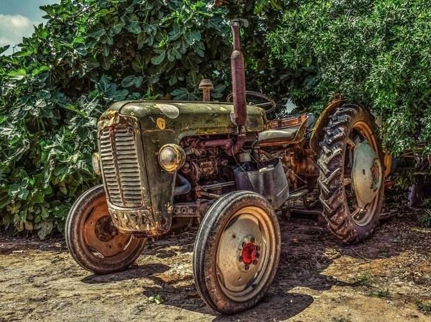 Трактор, Ферма, Сельской Местности, Сельское Хозяйство