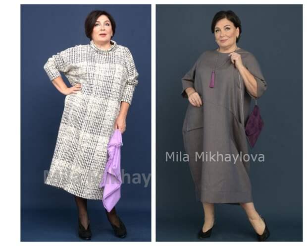 Фото 5,6 - платья от  Милы Михайловой.