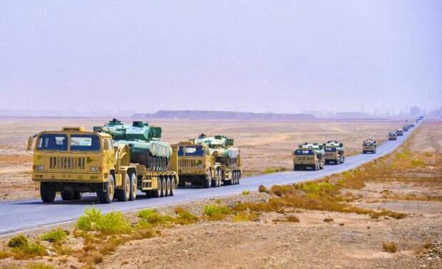 Китай стягивает крупные танковые силы и подразделения спецназа к индийской границе