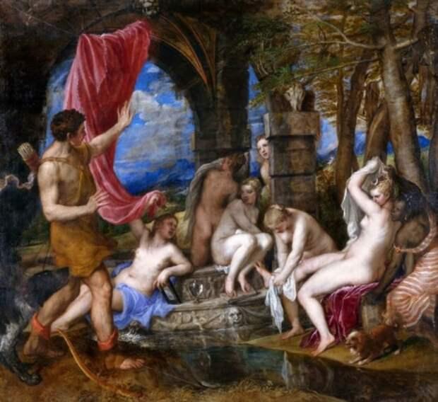 художник Тициан Вечеллио (Tiziano Vecellio) картины – 09