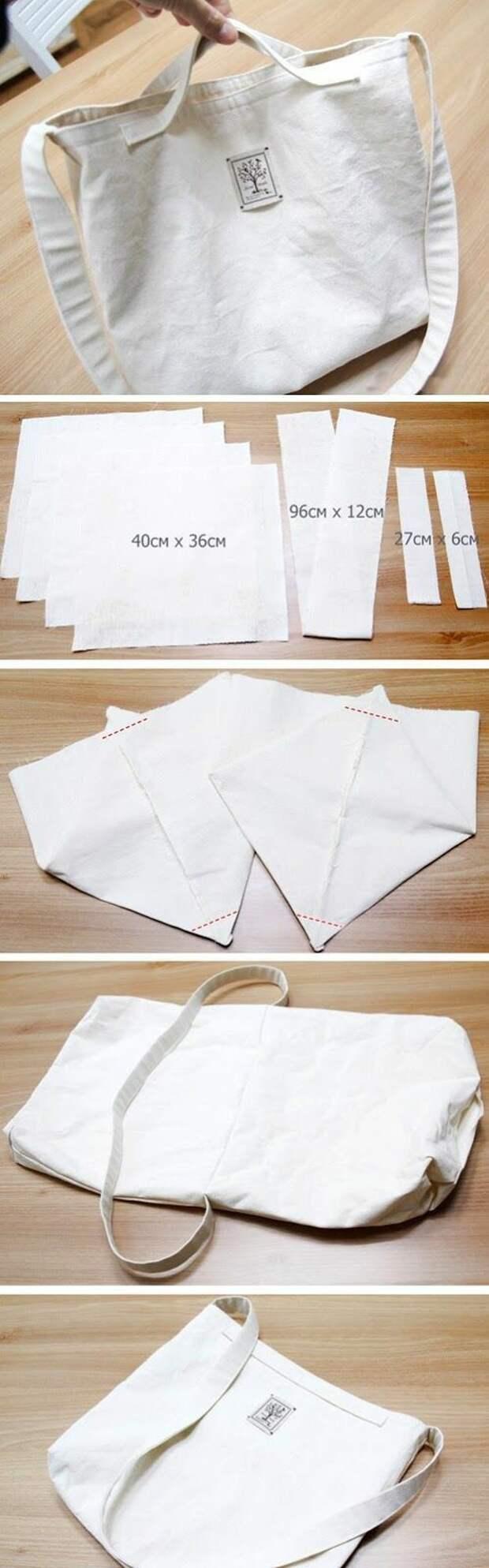 Летняя сумка (практически выкройка и diy)