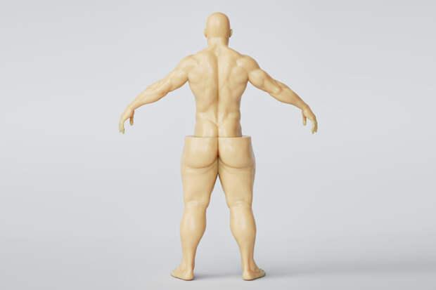 Большие ноги у мужчин