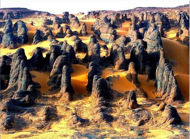 Пустыня Сахара, как последствие ядерной бомбардировки