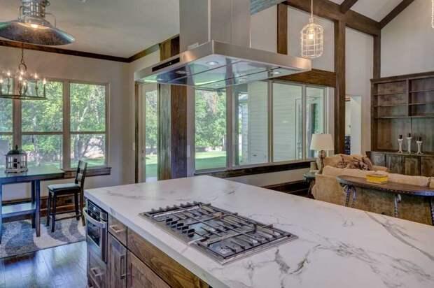 Остров на кухне: стильно, удобно, практично
