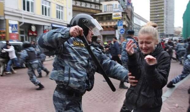 Петербургский омбудсмен осудил действия полиции по разгону митингов