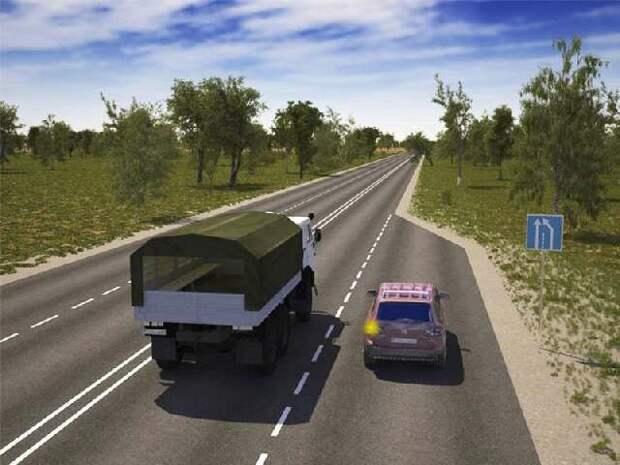Сужение дороги – кто кому должен уступать? Ответ инспектора ГИБДД