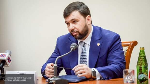 Пушилин отнес документы в ЦИК ДНР для участия в выборах главы республики в ноябре