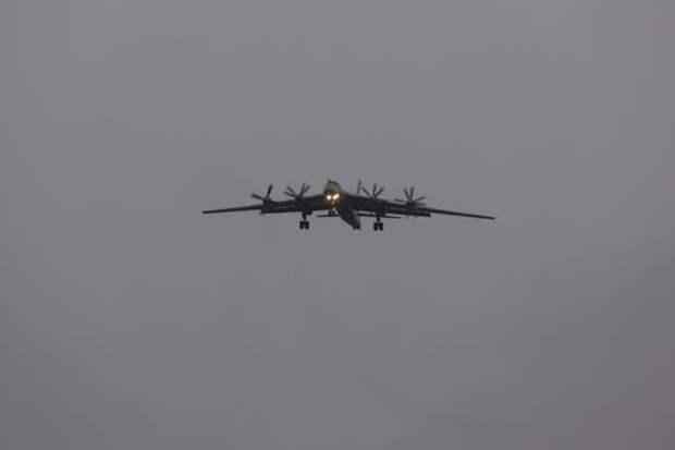 Экипажи самолетов Ту-95мс отработали полеты  в сложных метеоусловиях в Амурской области