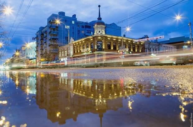 """Ресторан """"Нью-Йорк"""" и улица Большая Садовая"""