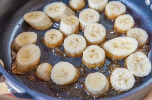 Жареный банан (diy)
