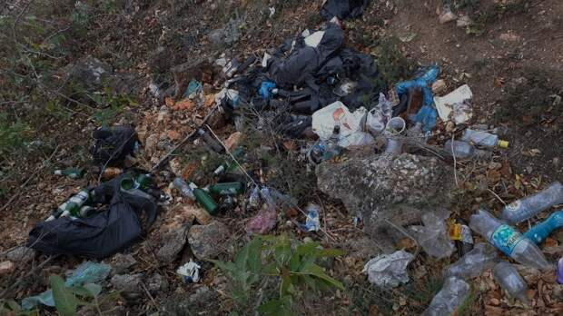 Sevsvalki.net уберут мусор с остатков Страбонова Херсонеса