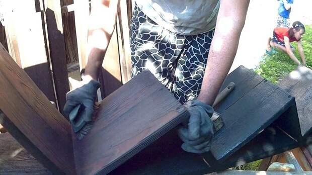 Чистим щеткой….. DIY или Сделай сам, детская кровать, детская спальня, кровать, мастер-класс, своими руками