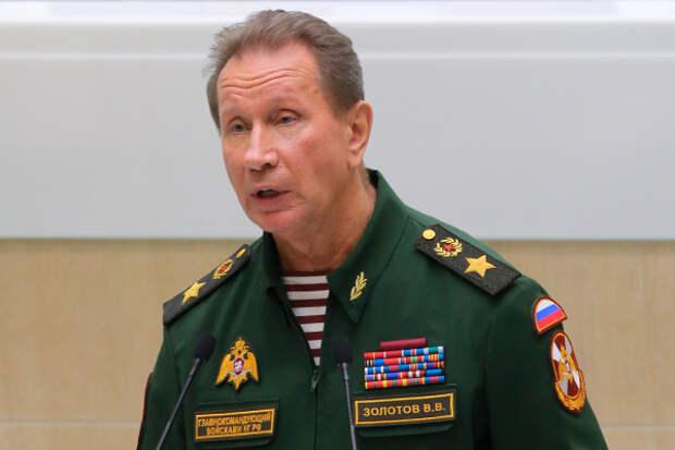 Глава Росгвардии вызвал Навального на дуэль, чтобы из него «сделать отбивную»
