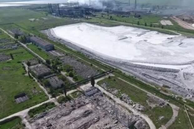 Украинцы назвали причину выброса вредных веществ в Армянске