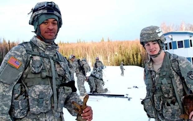 Американцы готовятся к боевым действиям на Чукотке