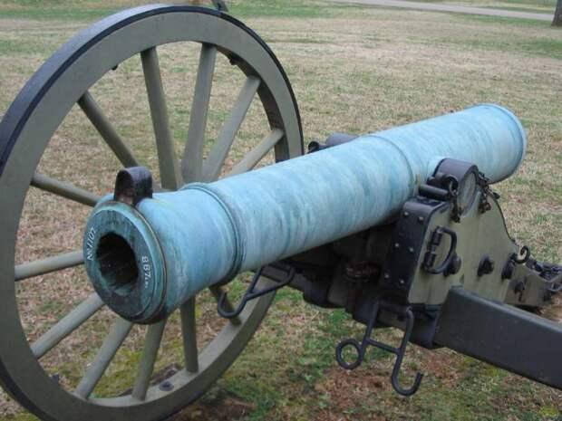 Пушки Джеймса и Сойера: нарезные против гладкоствольных