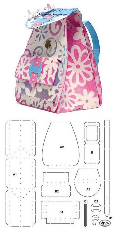 Выкройки для пошива сумок