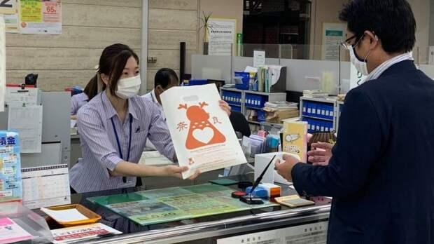 Японцы покормят оленей съедобными пакетами