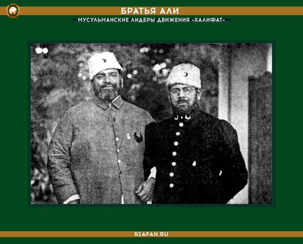 Братья Али, мусульманские лидеры движения «Халифат»