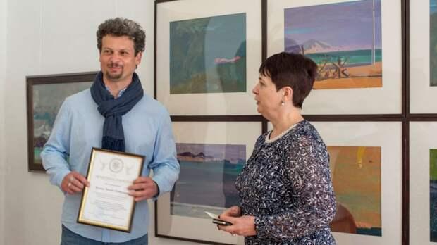Персональная выставка заслуженного художника Крыма Эдуарда Кулиша открылась в Симферопольском художественном музее